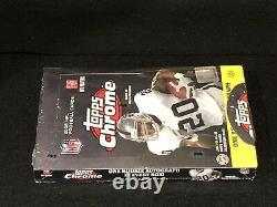 1 New Unopened Factory Sealed 2008 Topps Chrome Football Hobby Box Please Read