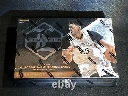 1 New Unopened Factory Sealed 2015 Panini Limited Basketball Hobby Box