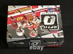 1 New Unopened Factory Sealed 2019 Donruss Optic Football Hobby Collector Box