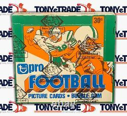 1978 Topps Football Unopened Sealed BBCE Cello Box