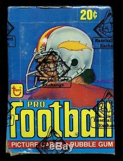 1978 Topps Football Unopened Wax Box 36 Packs / Bbce Sealed & Certified 092