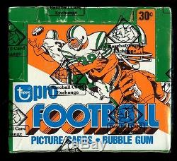 1979 Topps Football Unopened Cello Box 24 Packs / Bbce Sealed & Certified 365