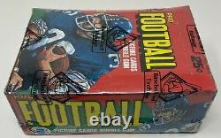 1980 TOPPS NFL Football Card BOX 36 Unopened Wax PACKS Sealed BBCE Wrapped