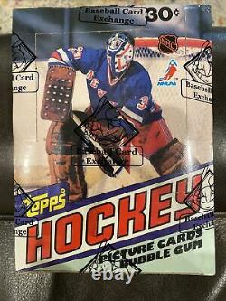 1981-82 Topps Hockey Unopened Wax Box with 36 Factory Sealed Packs BBCE Certified