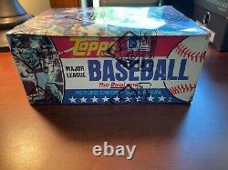 1981 Topps Baseball Sealed 36 Ct Pack Wax Box BBCE Wrapped, Certified, Unopened