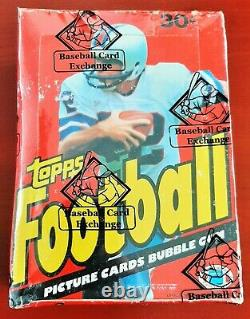 1981 Topps Football Cards Unopened Wax Box BBCE Sealed 36 Packs