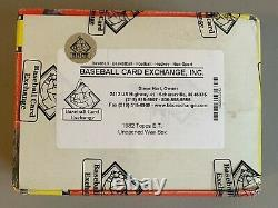 1982 Topps ET Unopened Wax Box BBCE Sealed (36 Packs) E. T. Extra Terrestrial
