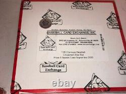 1983 Donruss Baseball Unopened Wax Box BBCE Wrapped FASC From Sealed Case MINT