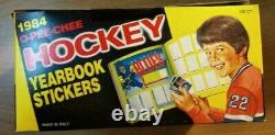 1984-85 O Pee Chee OPC NHL stickers Cello Sealed unopened wax box Yzerman Rc