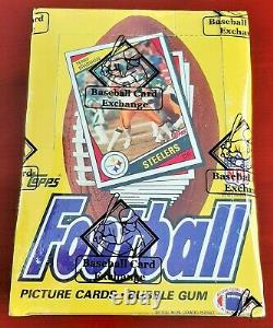 1984 Topps Football Cards Unopened Wax Box BBCE Sealed 36 Packs