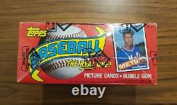 1985 Topps Baseball BBCE Sealed Wrapped Box 36 Packs Clean Unopened Wax Box