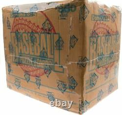1986 Donruss Factory Sealed Unopened Wax Box Case (20 Boxes) BBCE