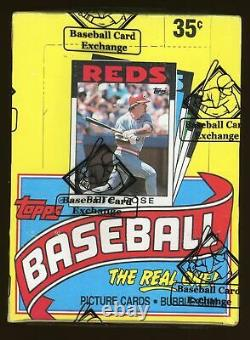 1986 Topps Baseball Wax Box 36 Sealed Packs Mint Unopened BBCE Authentic