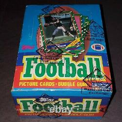 1986 Topps Football Sealed Unopened BBCE Verified Wax Pack Box - Rice, Young