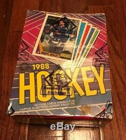 1987 OPC O-Pee-Chee Hockey Wax Pack Box Unopened BBCE Sealed Authenticated M380