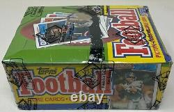 1987 TOPPS NFL Football Card BOX 36 Unopened Wax PACKS Sealed BBCE Wrapped CLEAN