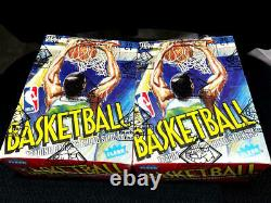 1989/90 Fleer Basketball Unopened Wax Box 36 Packs BBCE FASC Wrapped From Sealed