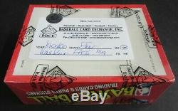 1989/90 Fleer Basketball Unopened Wax Box (BBCE) (FASC) From A Sealed Case