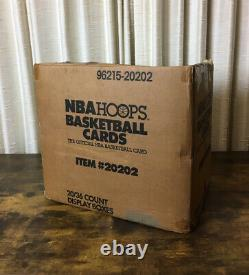 1989-90 NBA Hoops Series 1 Factory Sealed Case 20 Boxes, Brand New, Unopened