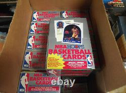 1989-90 Nba Hoops Series 2 Unopened Wax Box (36) Packs-fresh From Sealed Case