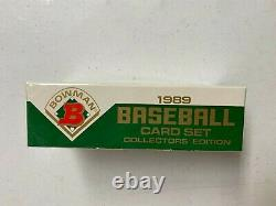 1989 Bowman Tiffany Baseball Factory Sealed Set with Ken Griffey Jr. RC Unopened