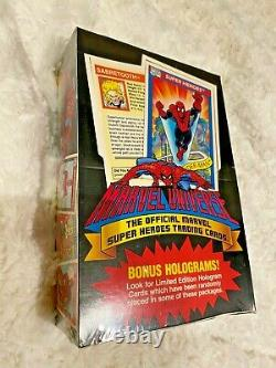 1990 Marvel Universe Series 1 Factory Sealed Box Unopened