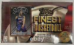 1996 1996-97 Topps Finest Series 1 Basketball Unopened Factory Sealed Hobby Box