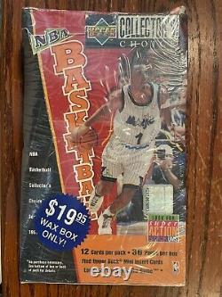 1996 Upper Deck Collectors Choice Basketball Series 2 Box Unopened Sealed M88
