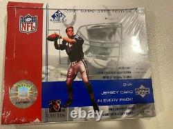 2001 UPPER DECK SP GAME USED FOOTBALL UNOPENED SEALED HOBBY BOX poss BREES