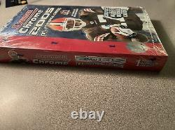 2005 Bowman Chrome Football Unopened box 18 packs 4 per pack Factory Sealed