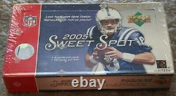 2005 Upper Deck NFL Sweet Spot Hobby Wax Box Sealed Unopened Football Rodgers RC