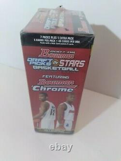 2007-08 BOWMAN Basketball Box NEW & UNOPENED TOPPS FACTORY PACKS SEALED Durant