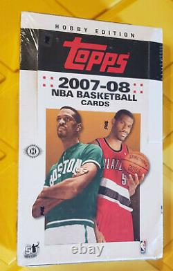 2007-08 Topps Basketball Hobby Factory Sealed Unopened Box Kevin Durant RC