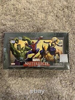 2007 Marvel Masterpieces Series 1 Trading Cards SEALED UNOPENED BOX 36 Packs