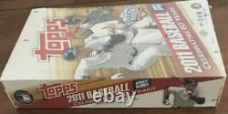 2011 Topps Update Baseball Sealed Box 36 Packs Mike Trout (Unopened)