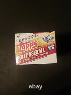 2011 Topps Update Blaster Box Unopened Sealed Possible Mike Trout Rookie