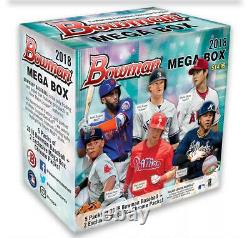 2018 Bowman Chrome Mega Box New Factory Sealed Unopened Target Exclusive