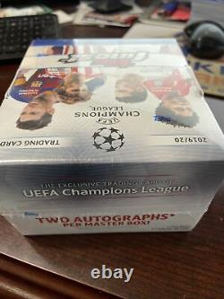 2019-20 Topps Finest Soccer Box Factory Sealed Unopened