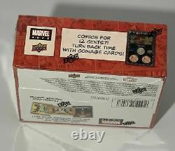 2020 2021 Marvel Ages Upper Deck HOBBY BOX New Factory Sealed Unopened