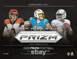 2020 NFL Panini PRIZM Football Unopened 12 HOBBY BOX Factory Sealed CASE