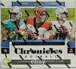 2020 Panini Chronicles Hobby Football Factory Sealed Unopened Box (6 Packs)