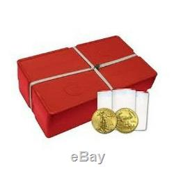 2020 SEALED MONSTER BOX OF 500 OUNCES GOLD AMERICAN EAGLES UNOPENED 500 oz