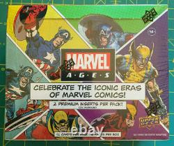 2021 Marvel Ages Upper Deck Hobby Box New Factory Sealed Unopened