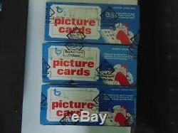 3 1979 Topps Baseball Vending Boxs Unopened BBCE Wrapped FASC FROM A SEALED CASE