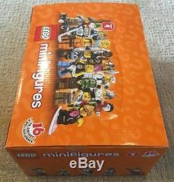 LEGO 8804 Box/Case of 60 Minifigures Series 4 New Factory Sealed Unopened