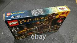 LEGO Lord of the Rings The Orc Forge (9476) Sealed Unopened Box, Retired Set