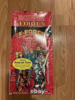 Marvel Cards X-Force Comic Images 1991 Autograph Series Unopened Sealed Box M40