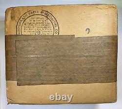 Monster 50 Ct Unopened Shipping Box 1962 US Proof Set US Mint Sealed 50 Sets