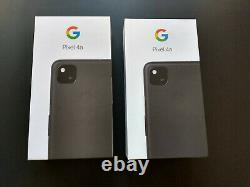 NEW Unopened Google Pixel 4a 128GB Just Black (Unlocked, new in sealed box)