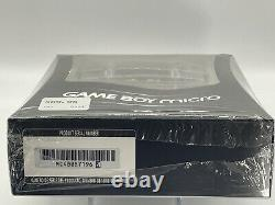 Nintendo Game Boy Micro Console. New, Sealed, Unopened Box